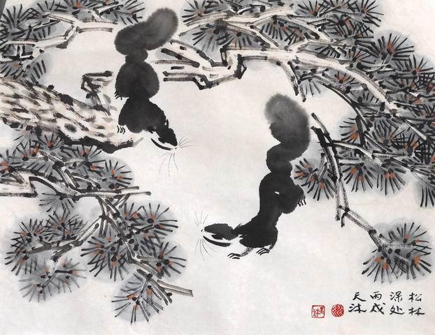 内蒙古画家李海民